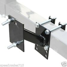 Spare Tire Wheel Mount Boat & Utility Trailer Bracket Carrier New Free Shipping