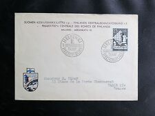 TIMBRES DE FINLANDE : JEUX OLYMPIQUES D'ECHECS A HELSINKI 10. 8. 1952  - TBE