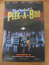 RED VELVET - Perfect Velvet (Ver. A) [OFFICIAL] POSTER K-POP *NEW* Peek-A-Boo
