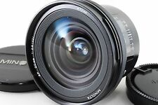 [Excellent] MINOLTA AF 20mm F2.8 New Second Version for Sony A mount (A30)