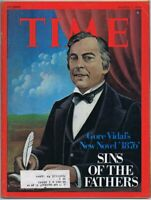 ORIGINAL Vintage March 1 1976 Time Magazine Gore Vidal 1876 A Novel