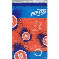 NERF PAPER TABLE COVER ~ Birthday Party Supplies Decoration Cloth Hasbro Orange