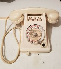 "Rare ancien téléphone standard BURGUNDER Ericsson ""colombes"""