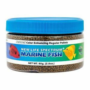 New Life Spectrum Naturox Marine Fish Sinking Pellets - 1 - 1.5 mm - 80 g