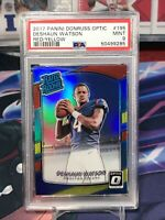 2017 DONRUSS OPTIC RED YELLOW RATED RC DESHAUN WATSON RC PRIZM #195 PSA 9 MINT