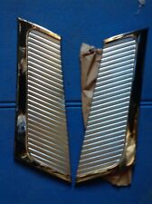FIAT 1100 103 DE LUXE SPECIAL COPPIA  GRIGLIE LATERALI GRILL OLD STOCK