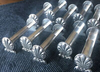 10 Antique French Silverplate Saint-Medard 18grs Ind. Toothpick Knife Rest