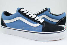Vans Old Skool - Navy Blue/White - Skate Shoes - Suede & Canvas - Men/Women
