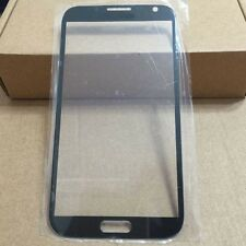 Front Glass Outer Lens Screen For Samsung Galaxy Note 2 II N7100 Black