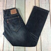 Levis 514 Straight Fit Jeans Size W29 L30 Blue Denim