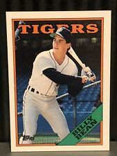 1988 Topps Billy Bean Baseball card Detroit Tigers MLB #267 Billy Ball Legend