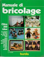 Manuale di bricolage Burda 1989 4672