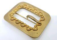 Antique victorian Sash Buckle Brooch Pin