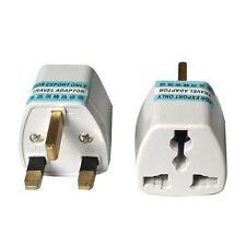 1x Portable US AU EU Europe to UK Power Socket Plug Adapter Travel Converter C1
