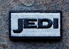JEDI MORALE PATCH SWAT ED.~STAR WARS/ZOMBIE HUNTER/RANGER 2X1 W/VELCRO®