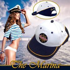 """the marina"" paraguas gorro Baseball cap Cappy medicina navegar yachtsport deportes acuáticos"