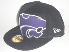 New Era 59Fifty Kansas State Wildcats ALIAS Hat Black 7 1 2 ( 32) 11f4750193ac