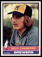 1976 Topps Billy Champion Milwaukee Brewers #501