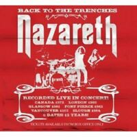 NAZARETH back to the trenches live 1972-1984 (2X CD compilation) hard rock, glam
