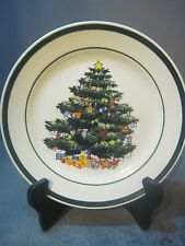 TOTALLY TODAY CHINA CHRISTMAS TREE PATTERN 7 INCH SALAD PLATE
