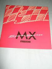 Mazda MX Sports Series range brochure Feb 1997
