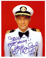 GAVIN MACLEOD  Hand Signed Photo 8 x 10 Color Authentic Autograph To Steve