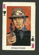 The Beatles Ringo Starr Smoking Gun Vintage 1960s Card from Spain