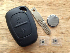 RENAULT TRAFFIC VIVARO PRIMASTAR MASTER KANGOO REMOTE KEY FOB CASE REPAIR KIT