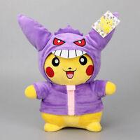 "Cosplay Pokemon Go Plush Toy Pikachu Gengar 11"" Cute Stuffed Animal Soft Doll"