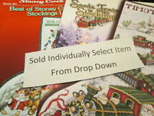 Stoney Creek Christmas Cross Stitch LEAFLET Your Choice
