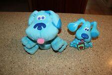 "Blues Clues Talking Blue Plastic 5"" & Plush Hand Puppet"