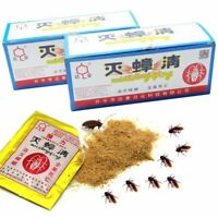Killer Cockroach Powder Bait Insecticide Bug Beetle Insect Roach Anti Pest 10pcs