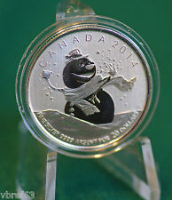 2014 CANADA $20 for $20 Snowman coin with original folder - #14 in series