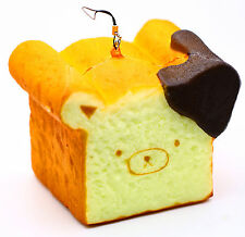 11CM Giant Cute Rilakkuma Squishy Phone Strap Bread Scent Toast Gift Hand Pillow