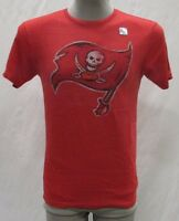 Tampa Bay Buccaneers Men's S, M, XL Big Logo Graphic T-Shirt NFL Red adidas A14