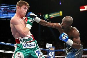 Floyd Mayweather VS Canelo Poster (24x36) inches