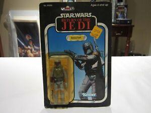 Vintage 1983 Star Wars Return of the Jedi Boba Fett - 77 Back