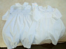 Authentic Vintage AMISH BABY Christening Suits LOT of 2
