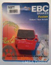"Yamaha WR450 (2003 a 2015) EBC ""TT"" pastillas de freno trasero (FA367TT) (1 Set)"