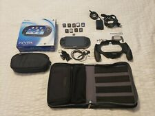 Sony PlayStation Vita Wi-Fi Console - w/9 games, 32gb memory card and extras!!