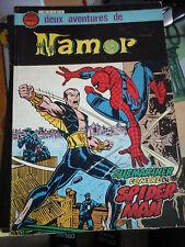 2 AVENTURES DE NAMOR - SUBMARINER CONTRE SPIDERMAN - ARTIMA COLOR MARVEL SUPER
