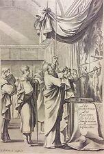 Laurent de la Hyre Michel Lasne  frontispice Les Charactères des passions 1640