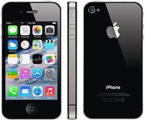 Apple iPhone 4S 8GB 16GB 64GB Unlocked Black Smartphone - 6 Months Warranty