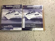 1999 Sea Doo Speedster SK Service Shop Repair Manual Set W Parts Accessories Bk