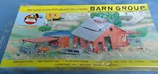 AMH  Ho Scale Barn Group 4 Structures Never Built OB. Sealed.