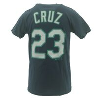 Seattle Mariners Youth Size Nelson Cruz MLB Official Majestic T-Shirt New