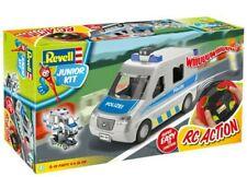 Revell Junior Kit RC Polizeiwagen ferngesteuert, Bausatz 49-tlg.1:20 NEU