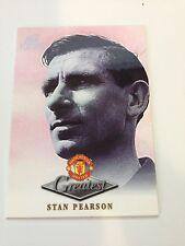 Manchester United Futera Platinum 1999 Greatest Card (SP)