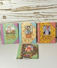 4 Mary Engelbreit Mini Books-She Who Loves a Garden, Don't Waste the Miracle,etc