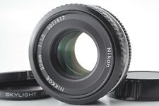 【Excellent+++】 Nikon Ai-S Nikkor 50mm F1.8 Pancake MF Lens Lens from Japan